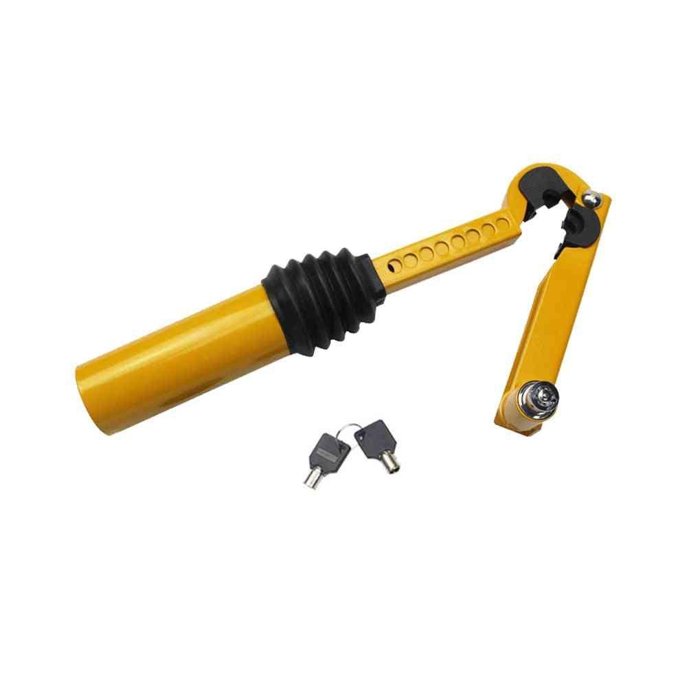 Stainless Steel Car Handbrake Shift Lock