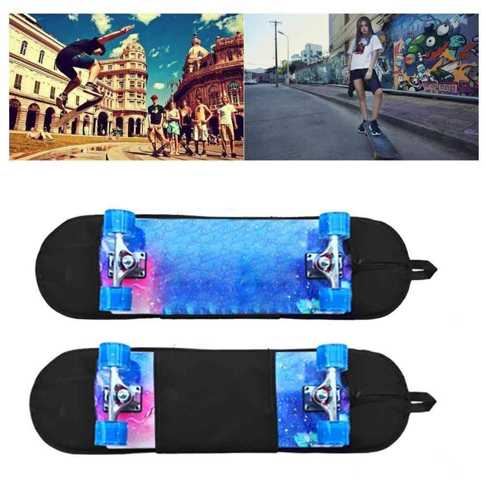 Durable Convenient Portable Skateboard Backpack Case
