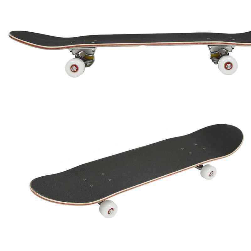 Four-wheeled Maple Silent Skateboard