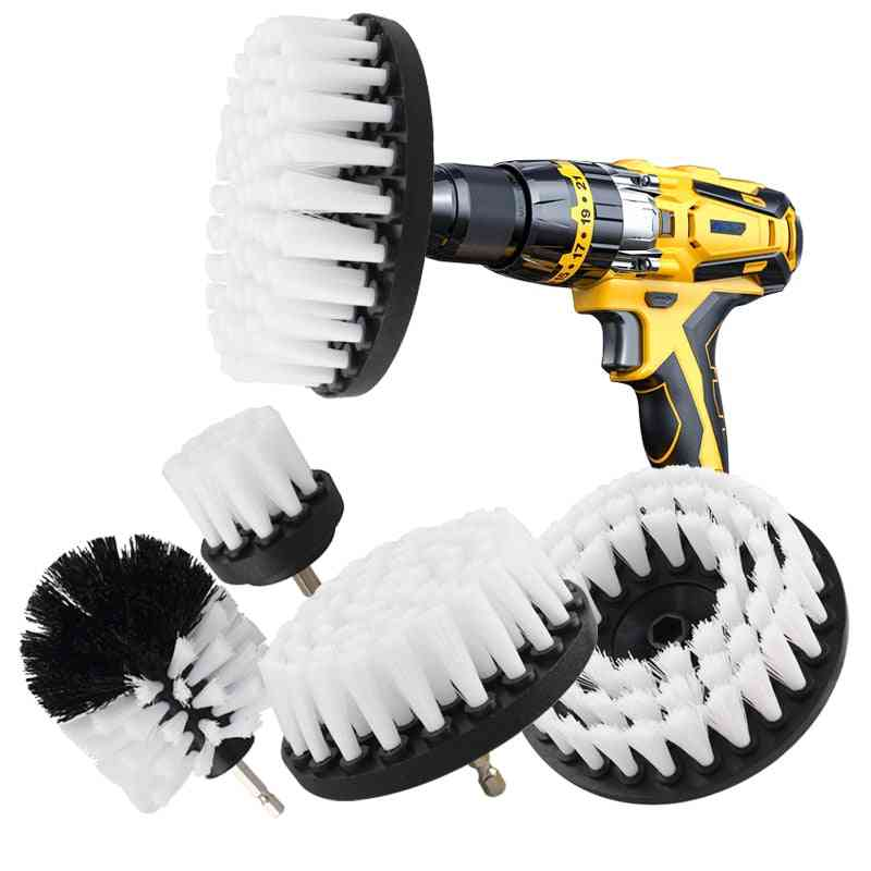 Car Polisher Bathroom Cleaning Kit With Extender