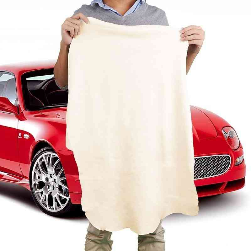Natural Shammy Chamois Leather Car Cleaning Towels