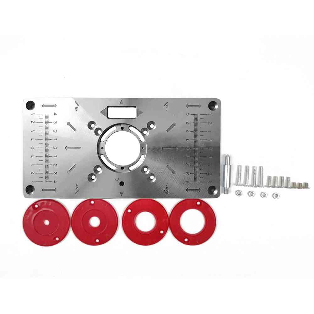 Multifunctional Router Table Insert Plate Woodworking