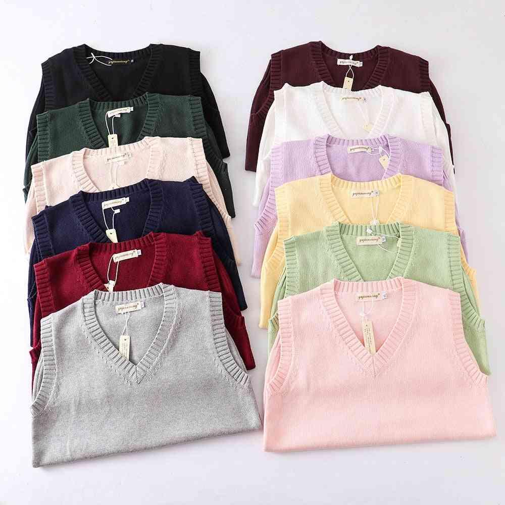 Japanese School Jk Uniform Sweater Vest High School Uniform For Boy