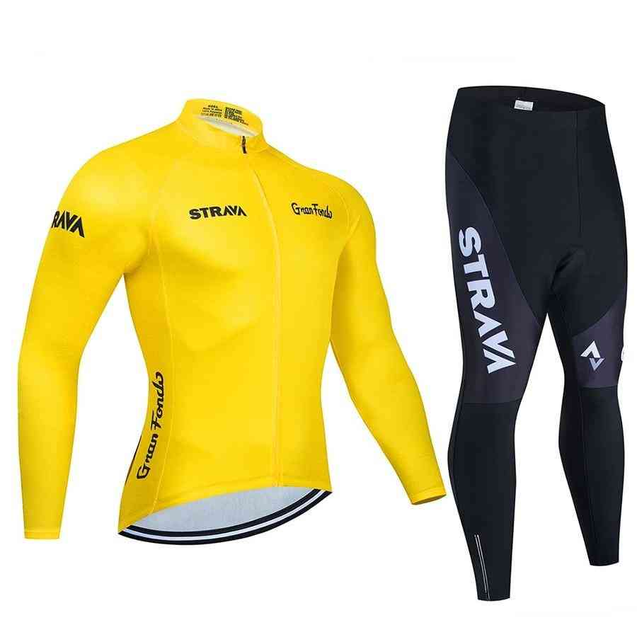 Long Sleeve Cycling Jersey Jersey Uniform