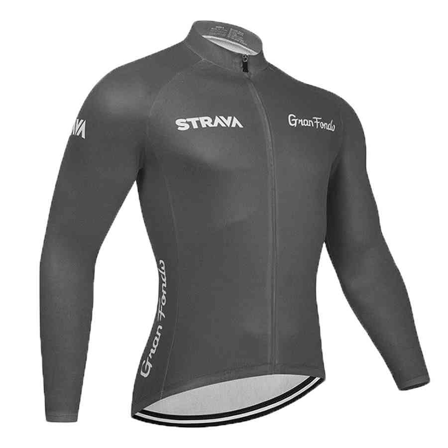 New Team Long Sleeve Bicycle Jersey Uniform