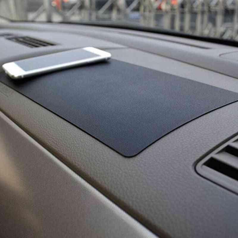 Car Dashboard Sticky Anti-slip Pvc Mat, Non-slip Sticky Pad
