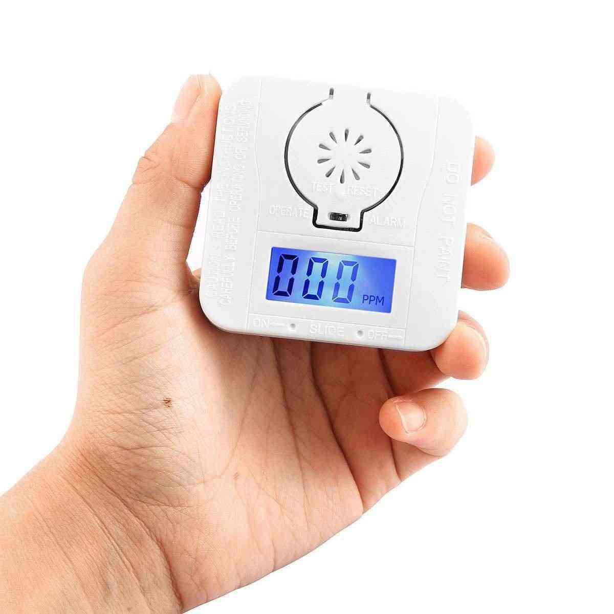 New-co Carbon Monoxide Smoke Detector Alarm