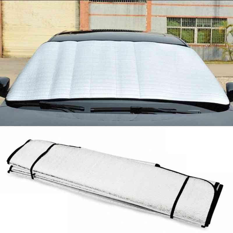 Car Styling Sun Reflective Shade Car Windshield Sun Shade Windshield Film Uv Protect Foldable