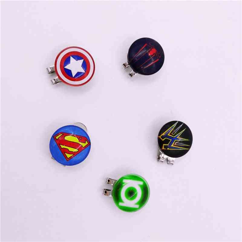 Magnetic Golf Hat Clip With Ball Marker