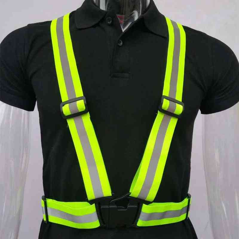 Highlight Reflective Straps Night Work Security