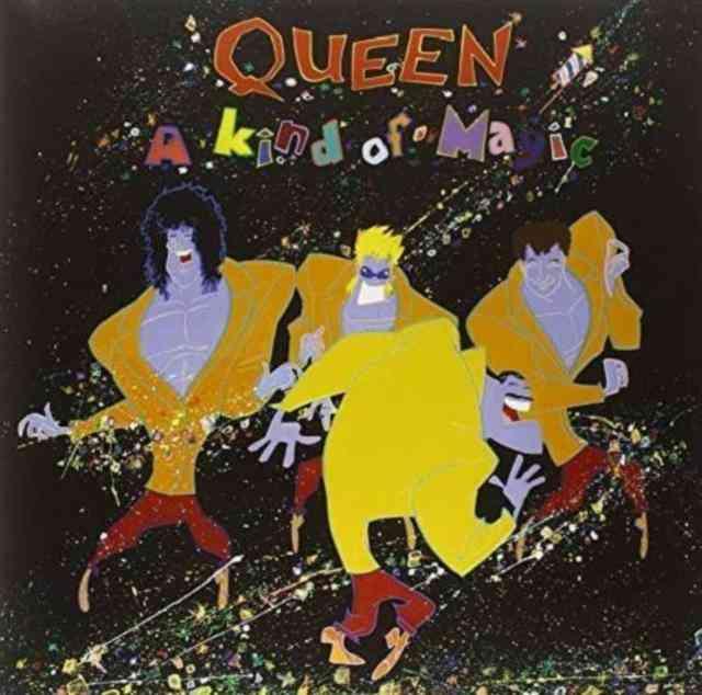 Queen Lp - A Kind Of Magic