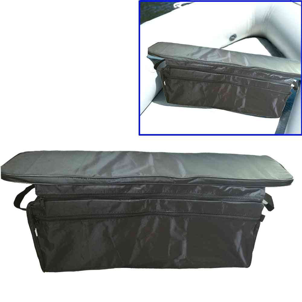 Storage Bag With Padded Seat Cushion