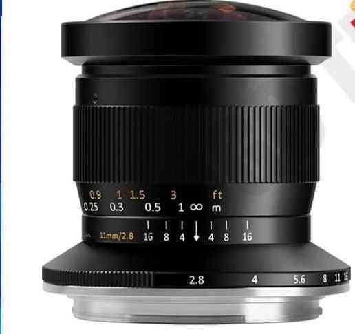 Fisheye Lens Full Fame Manual Focus Prime