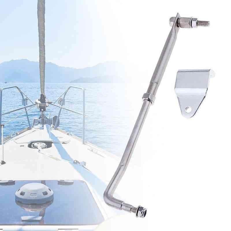 Boat Steering Link Rod Kit Steel For Marine Yacht