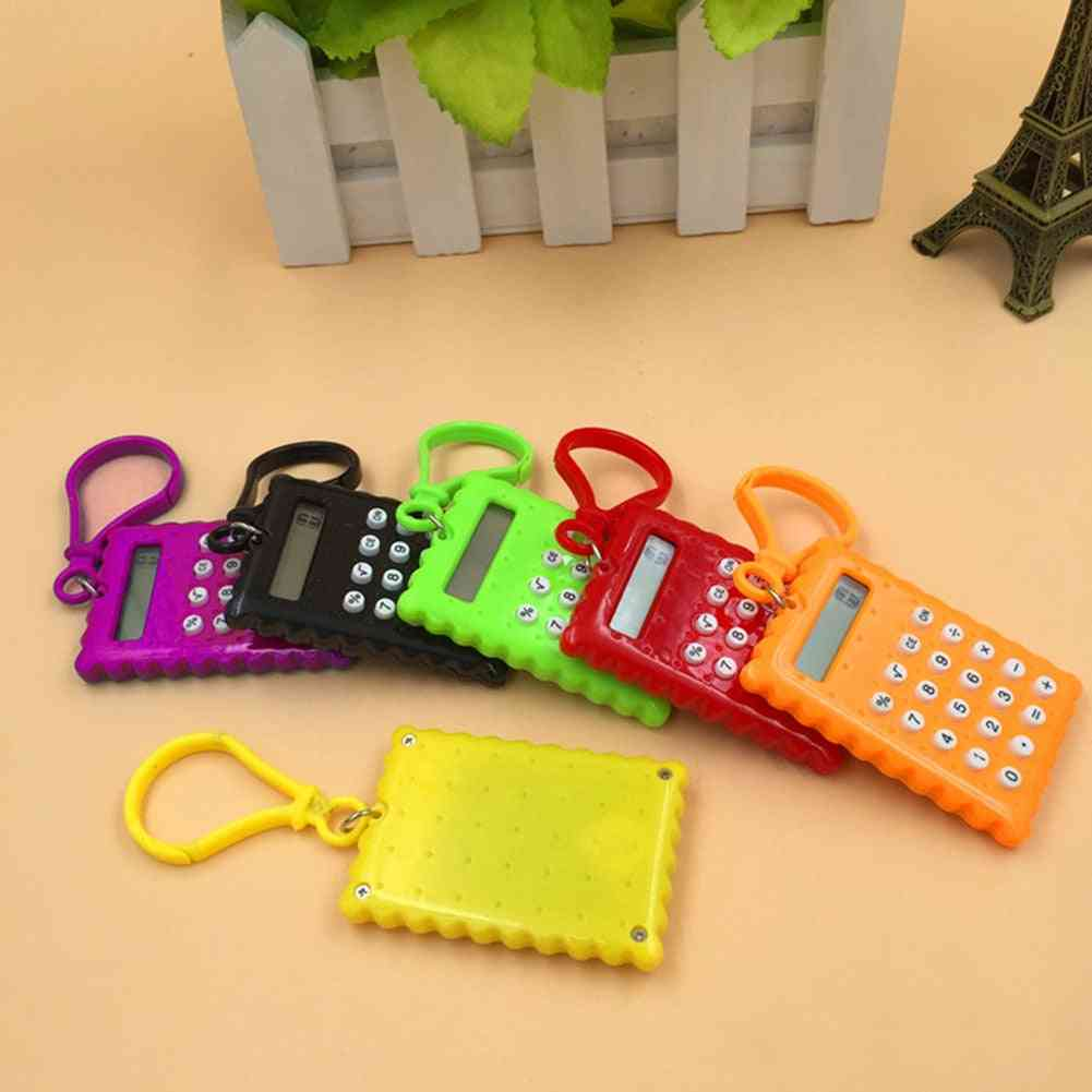 Pocket Student Mini Electronic Biscuit Shape Calculator