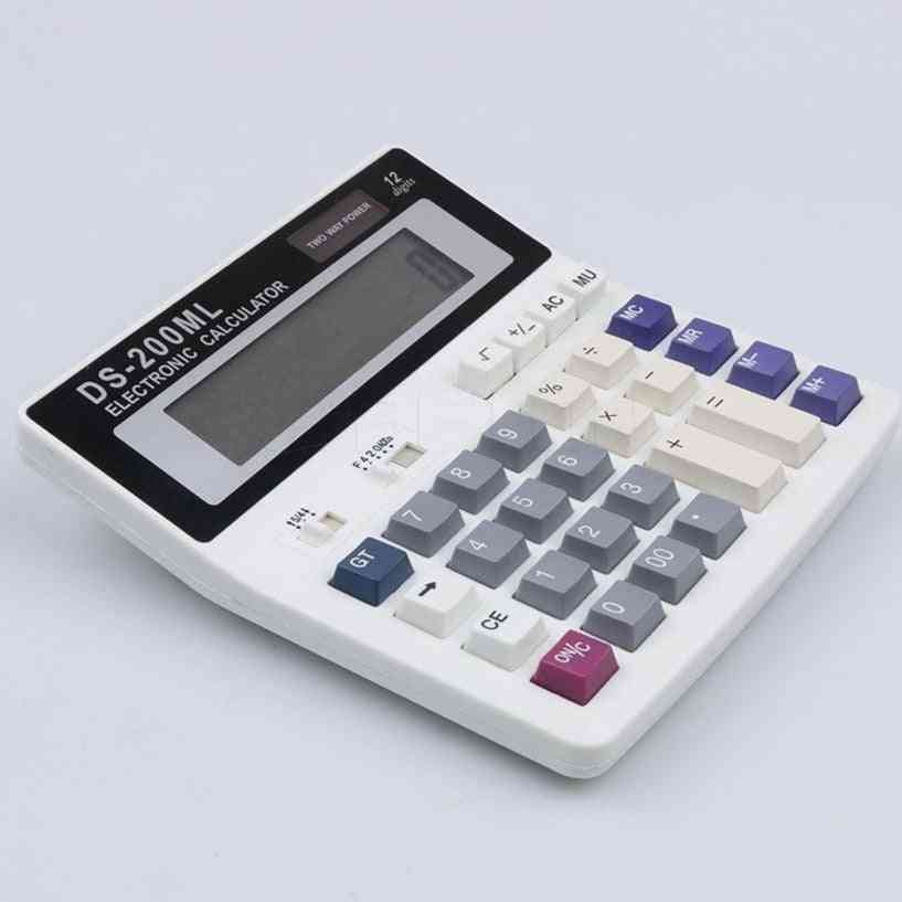 Multi-functional Battery Electronic Office Calculator