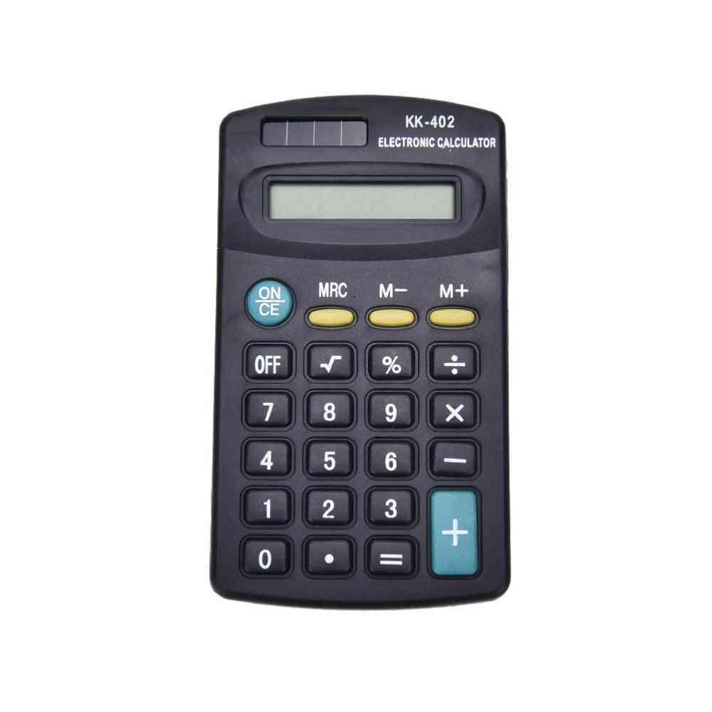 Portable 8 Digit Electronic Calculator