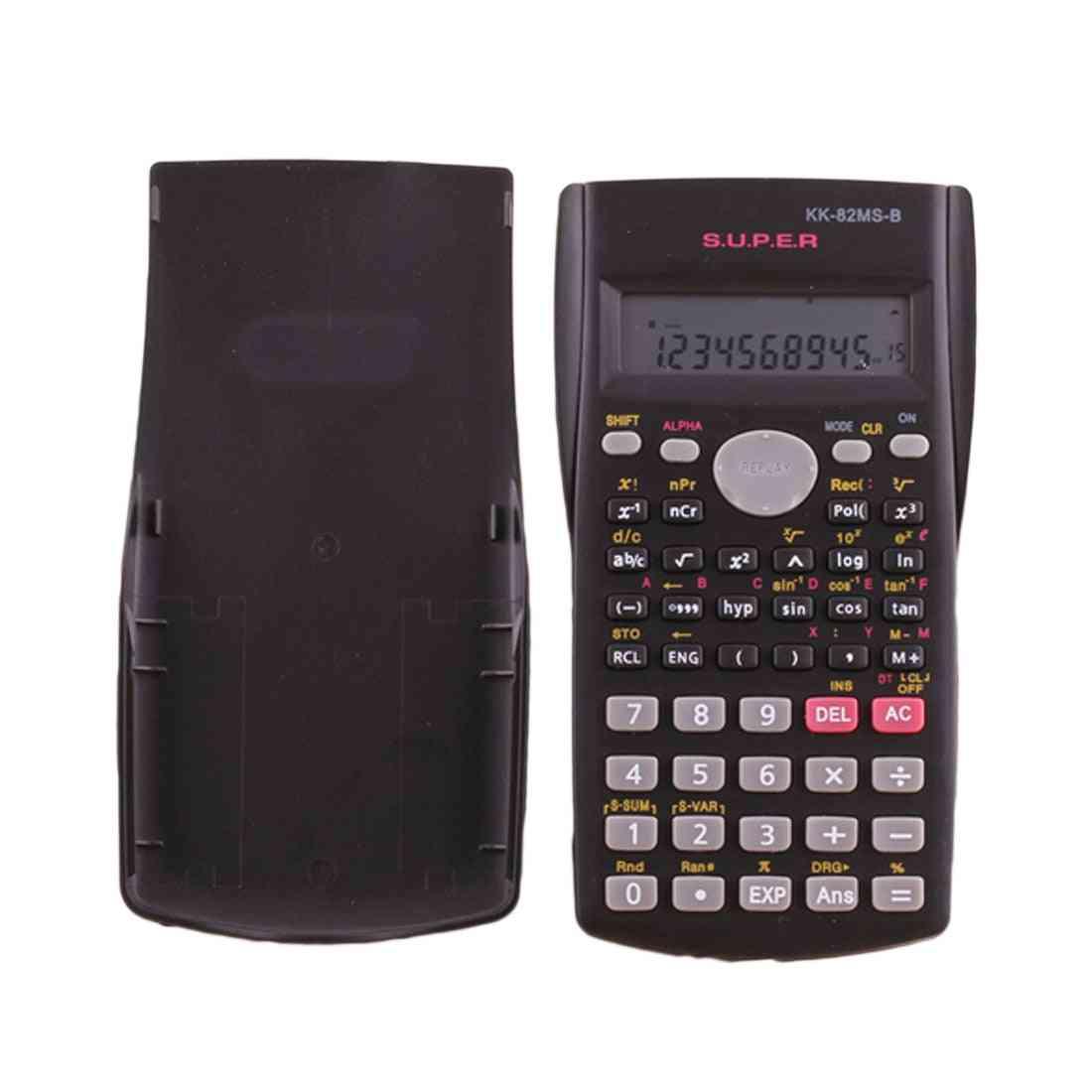 Portable Scientific Student Electronic Calculator