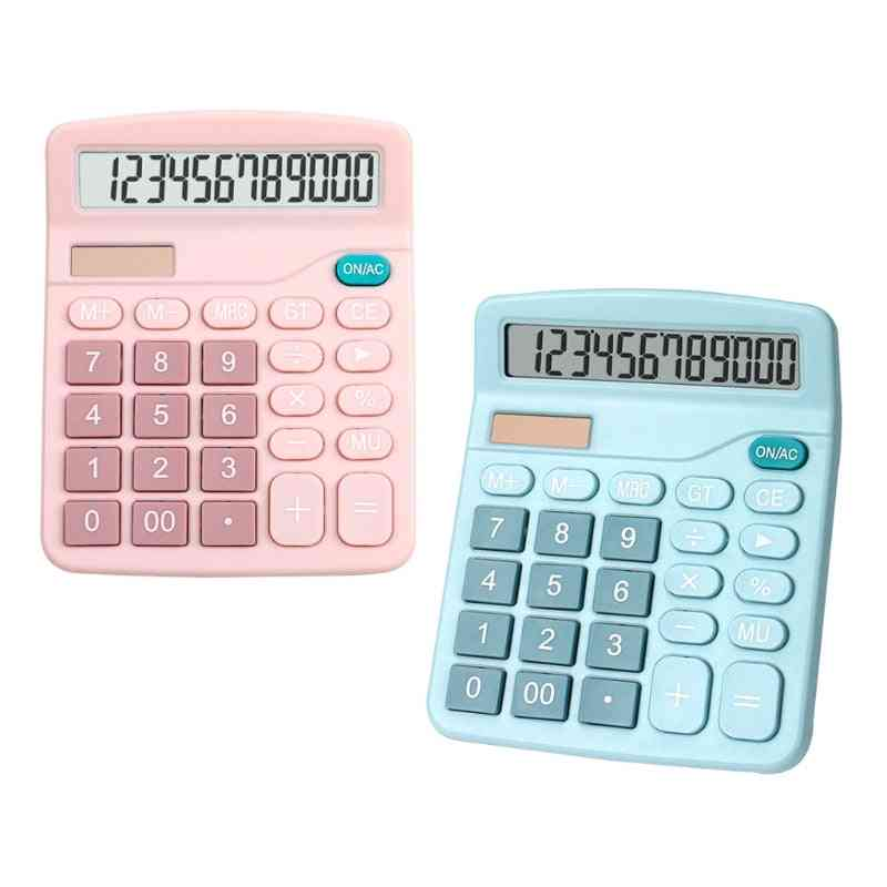 Electronic Large Screen Desktop Calculators