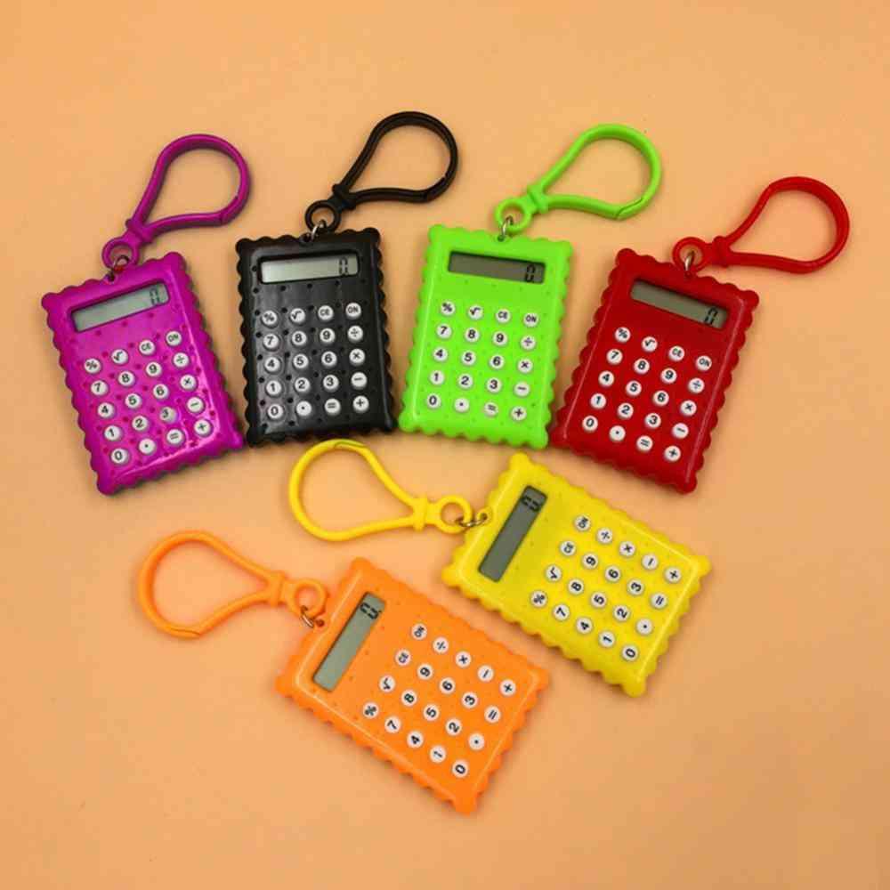Mini Candy Color Small Square Calculator