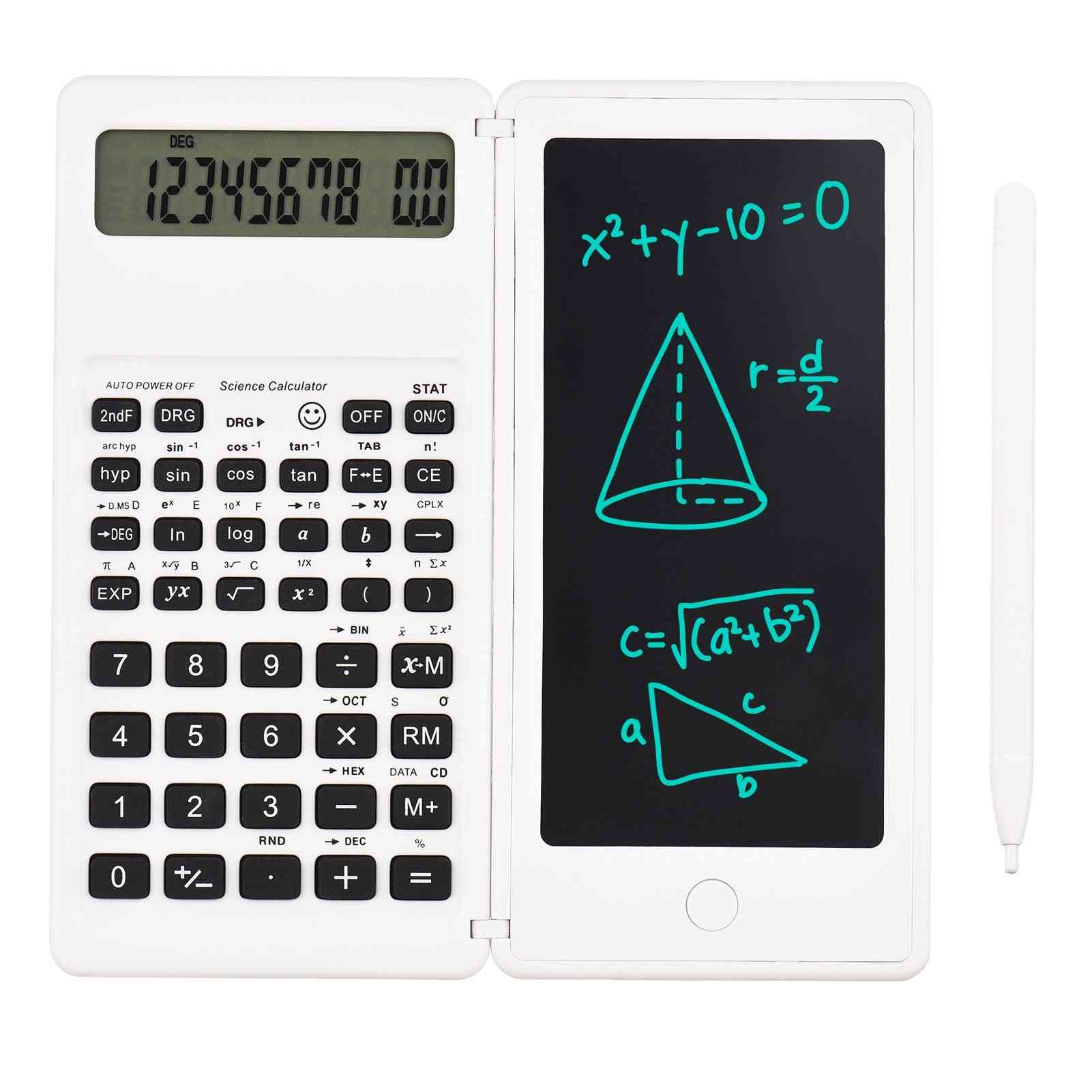 Thin And Foldable Lcd Writing Tablet Desktop Calculators