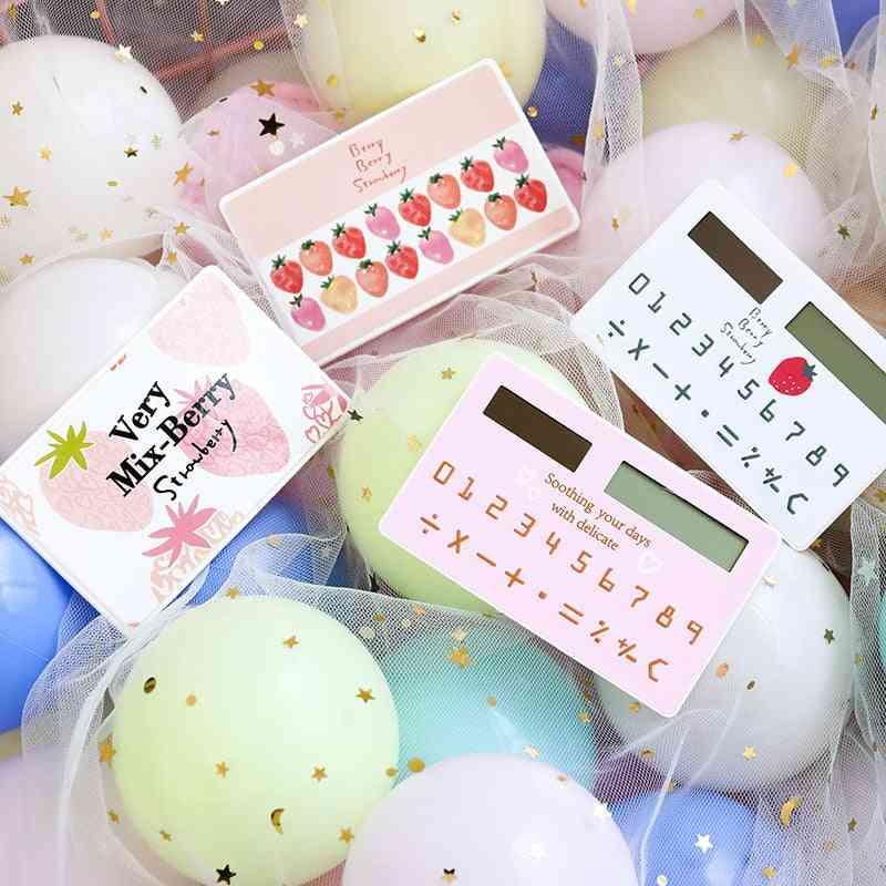 Portable Cartoon Cute Card Animal Mini Calculator