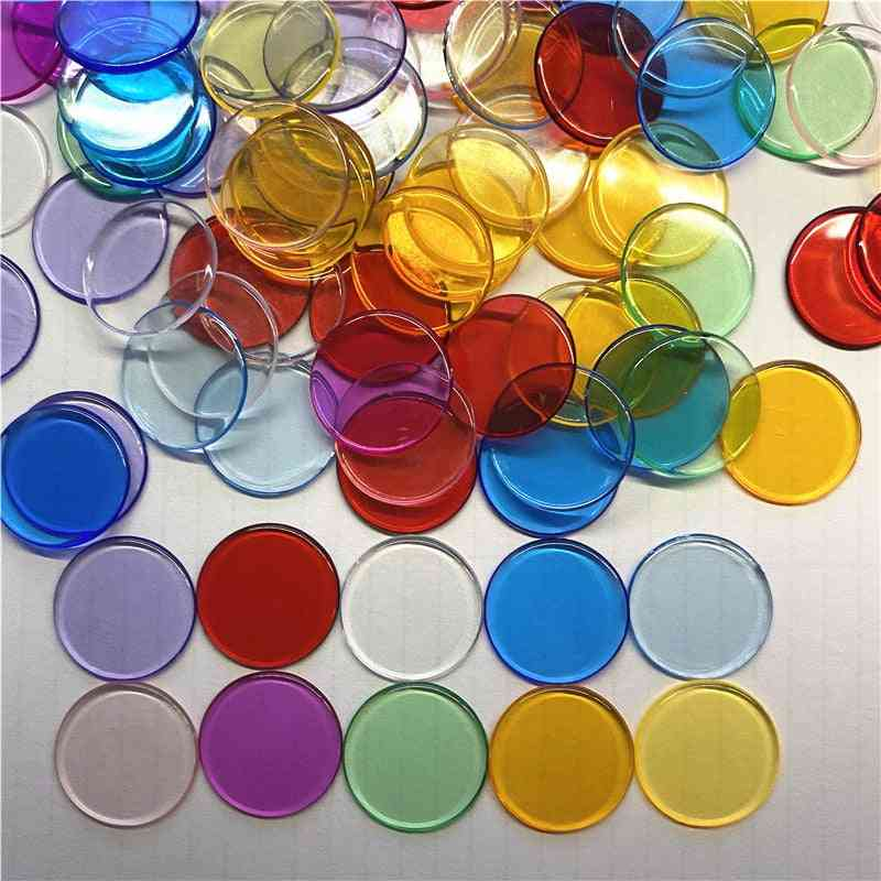 Transparent Chips Plastic Counting