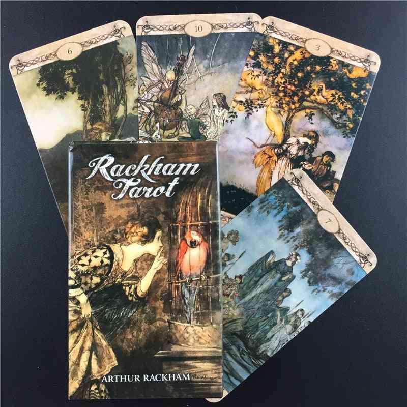 Tarot Cards English Version Table Deck
