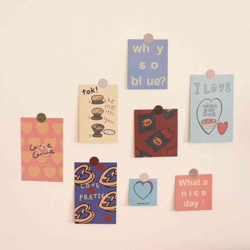 Writable Decorative  Card Waterproof
