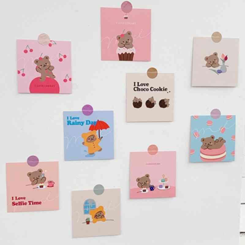 Bear Decoration Greeting Cards