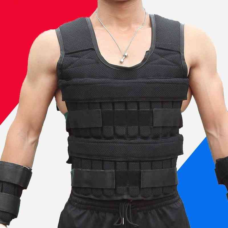 Adjustable Loading Vest For Boxing Weight Training