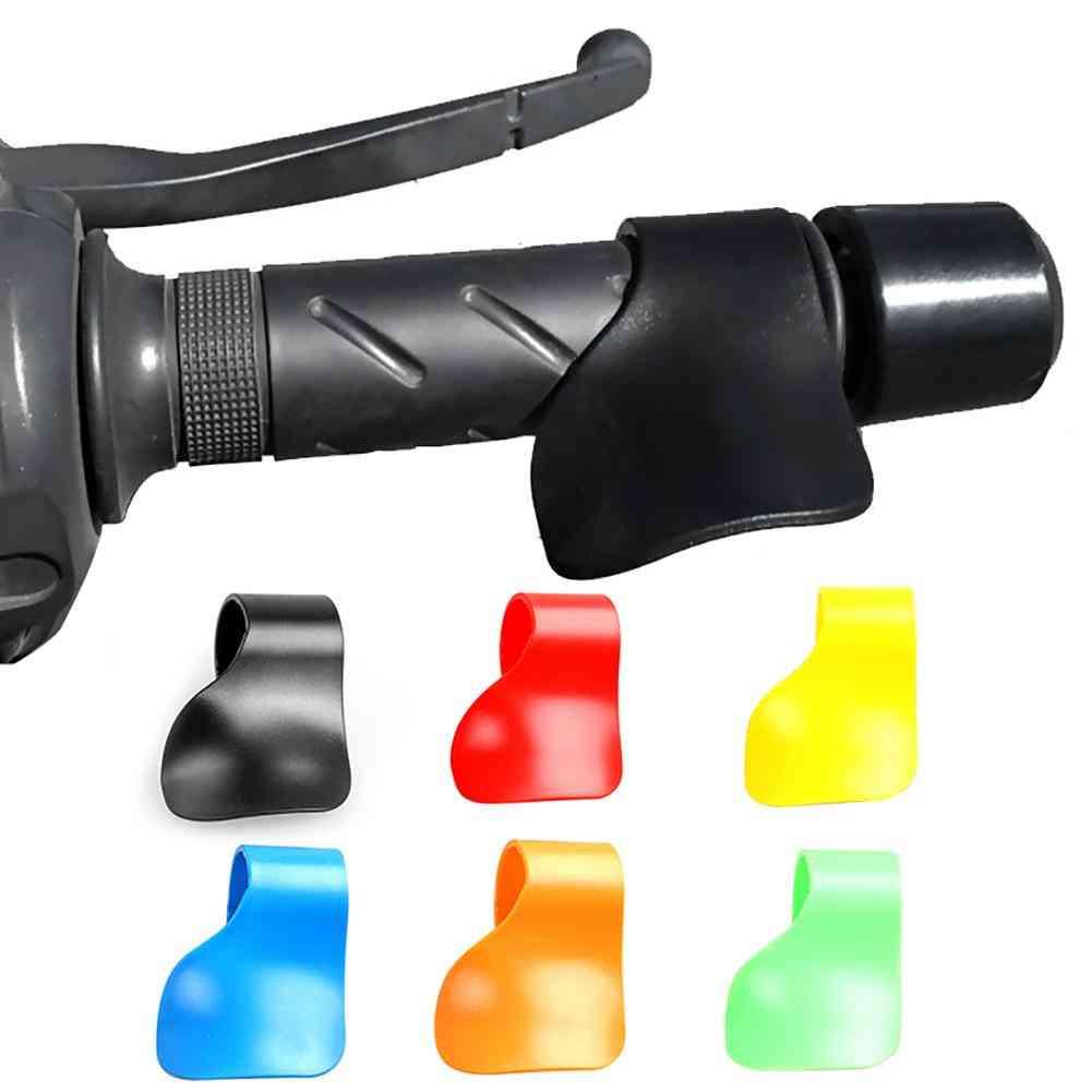 Universal Carbon Fiber Throttle Control Motorcycle Handlebar Grip