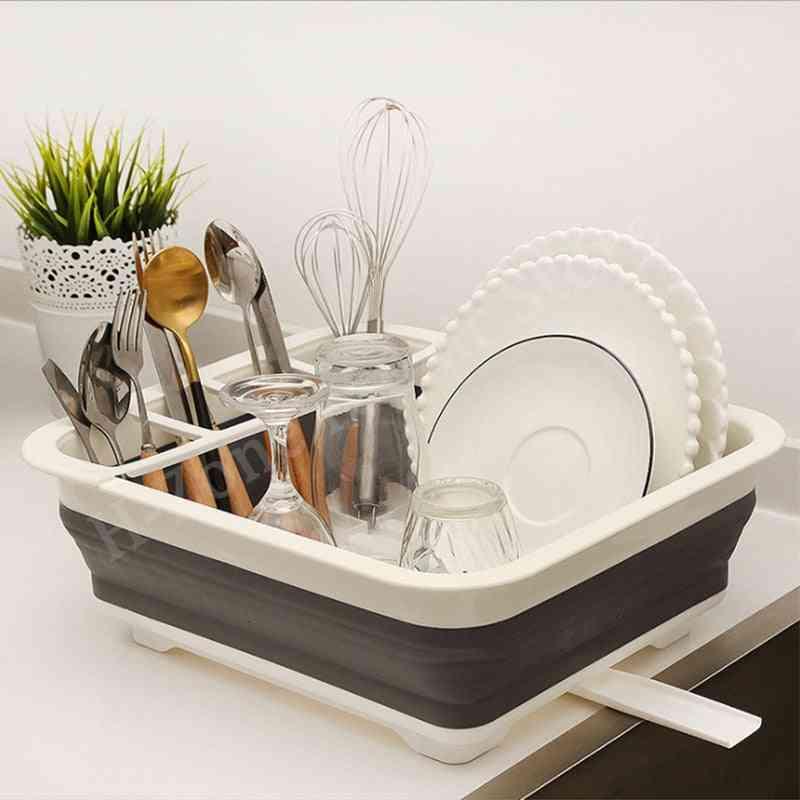 Camping Car Dish Rack  Bowl Sink
