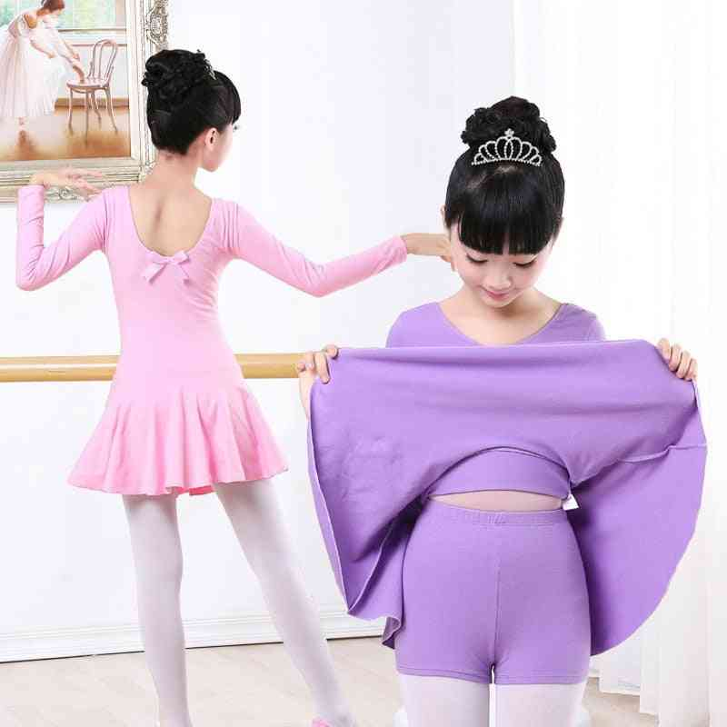 Children Gymnastics Ballet Dance Dress Kids Dancewear