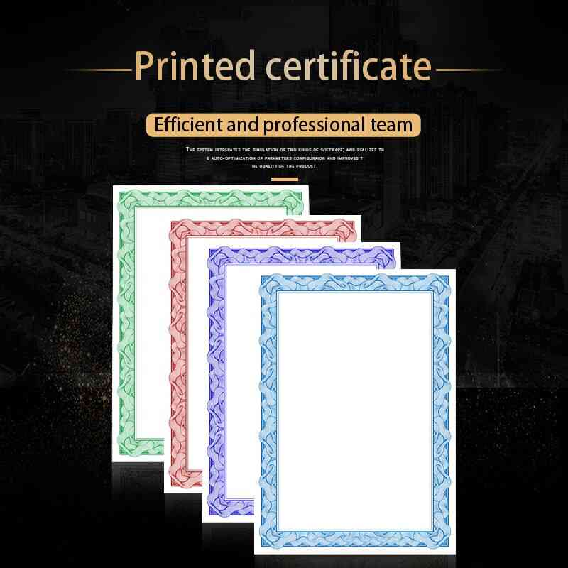 A4 Printable Thick Paper For/employe