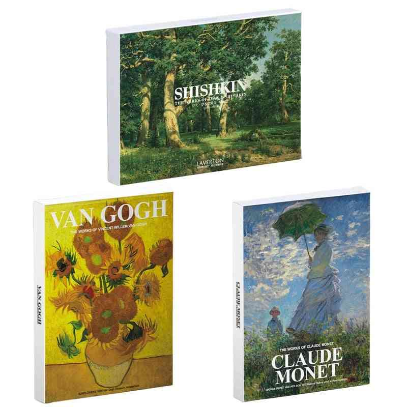 Art Painting Sunflowers Postcards