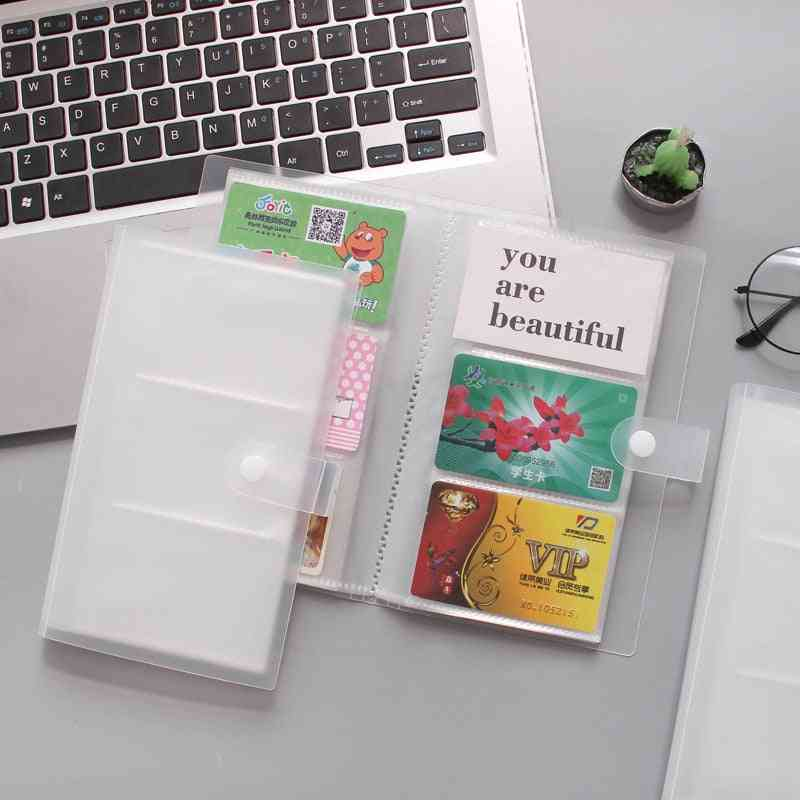 Id Card Holder Card Book