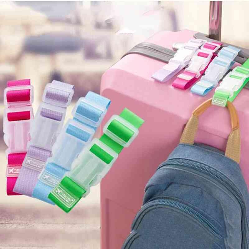 Adjustable Security Portable Bag Parts Suitcase Bag Hanger Luggage Strap Belt