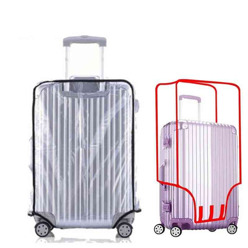 Waterproof Transparent Travel Protective Luggage Suitcase Cover