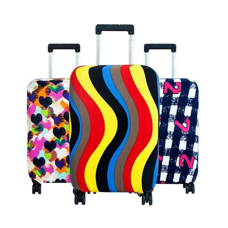 Fashion Travel On Road Luggage Cover