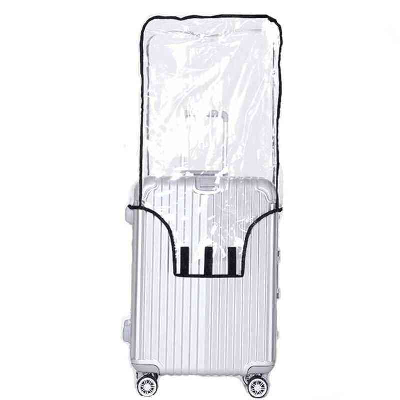 Clear Pvc Suitcase Rolling Luggage Cover Protector