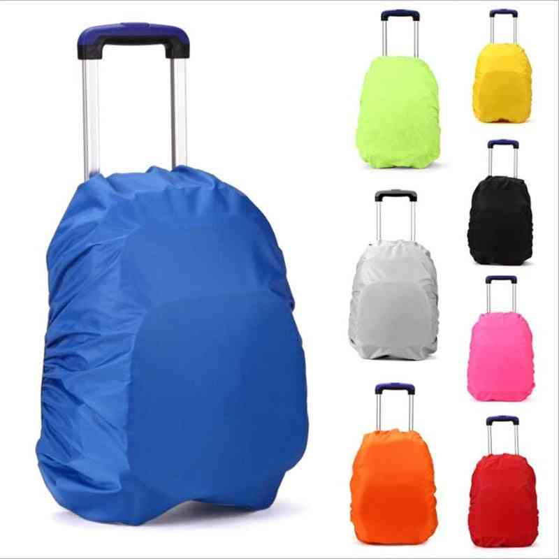 Suitcase Cover, Trolley School Bags Backpack Rain Proof Cover