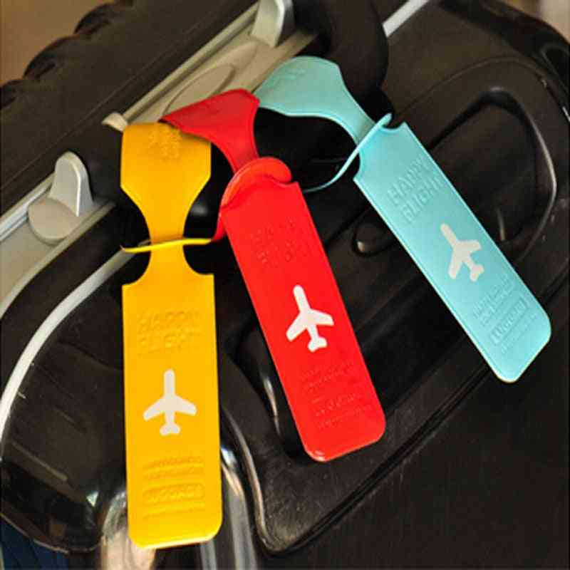 Cute Luggage Label Straps, Suitcase Id Name Address Identify Tags