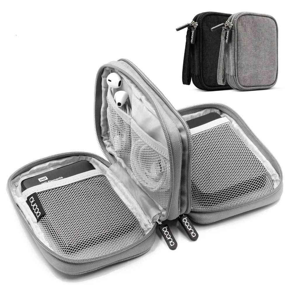 Shockproof Carrying Digital Organizer Travel External Storage Bag