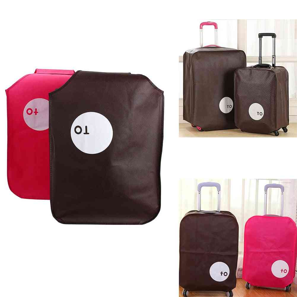 Non-woven Travel Luggage Protective Cover