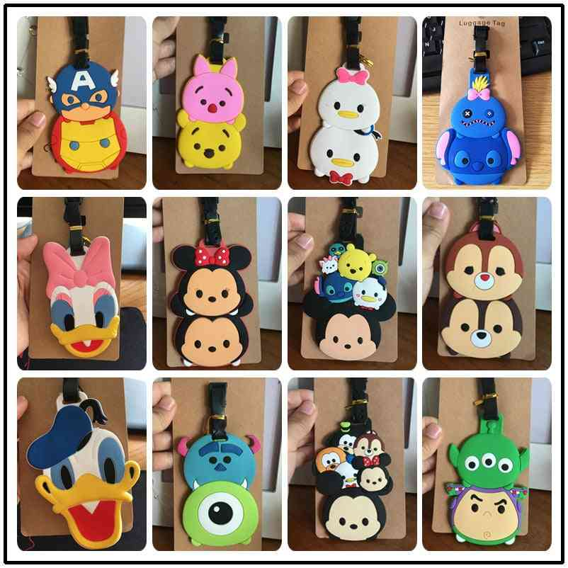 Disney Cartoon Mickey Mouse Luggage Tag