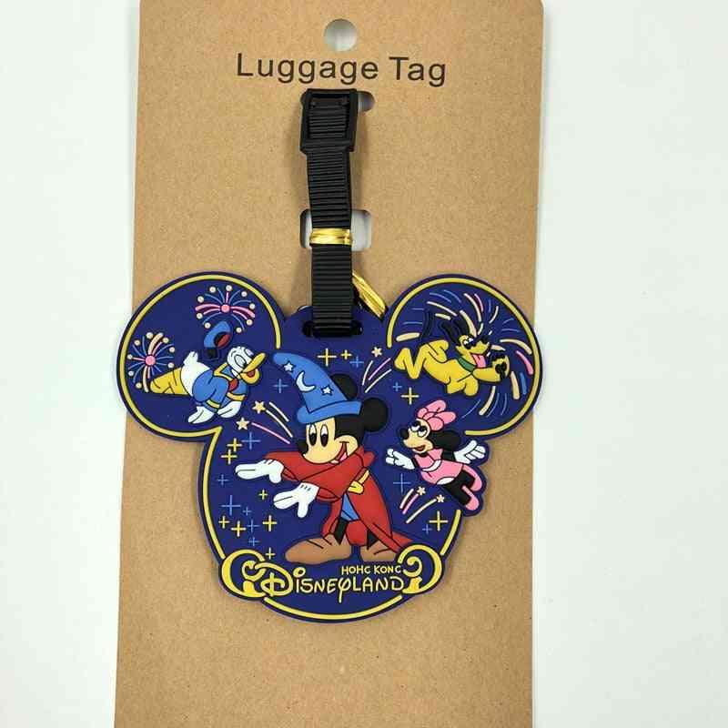 Suitcase Id Address Portable Label Minnie Pendant