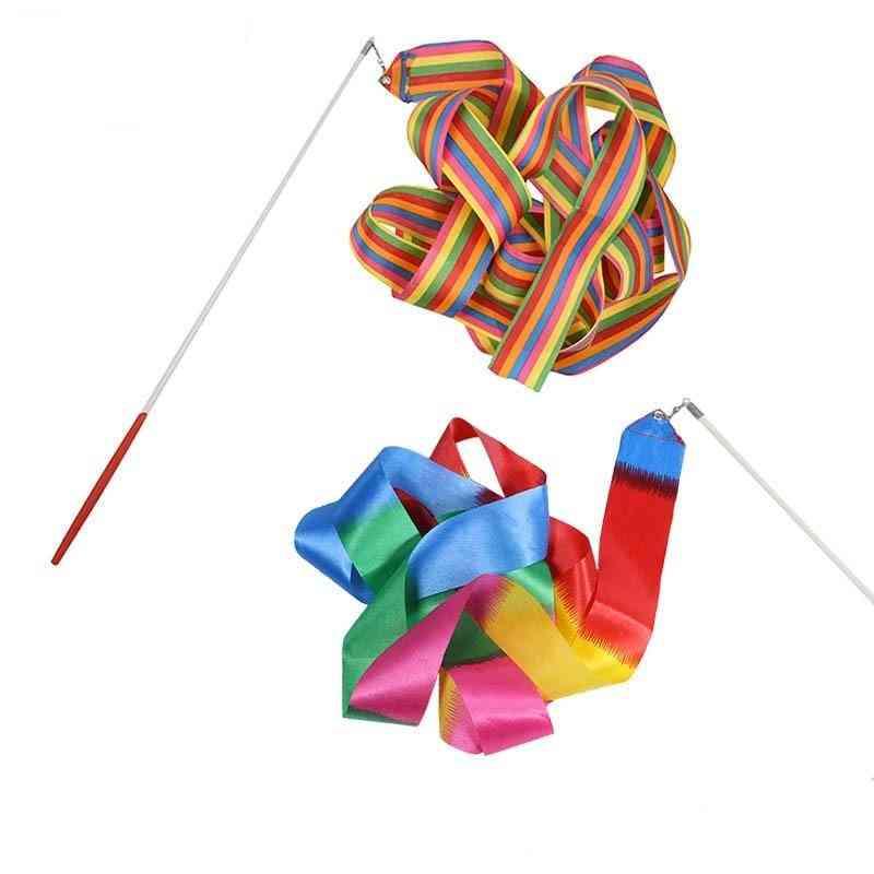2m/4m Colorful Gym Ribbons Dance Ribbon Rhythmic Art