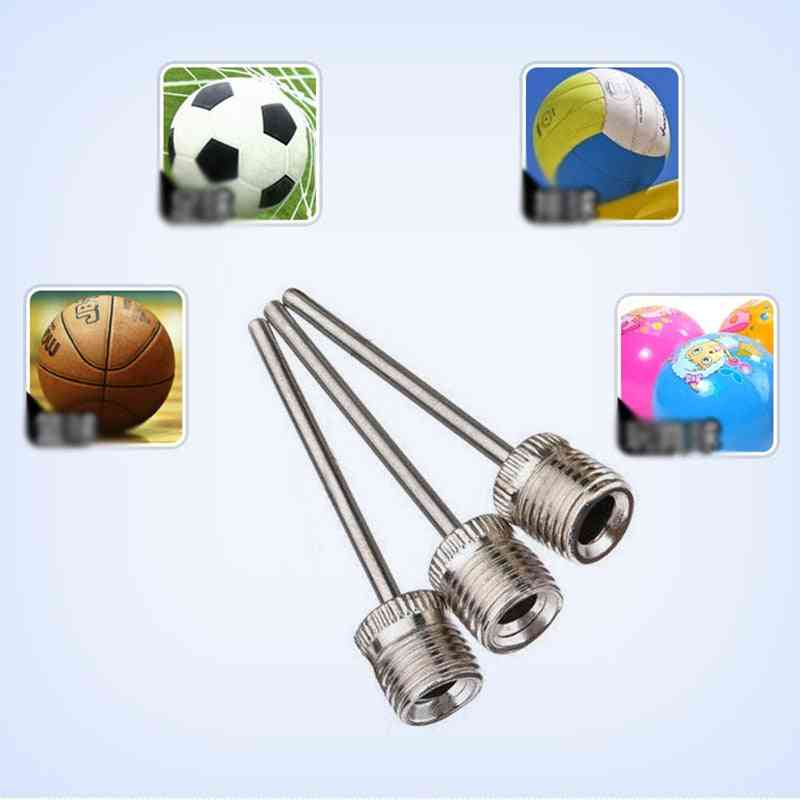 Sports Inflating Needle Nozzle Football Basketball Soccer