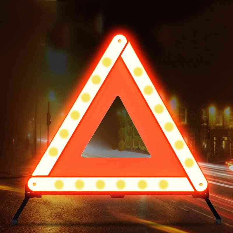 Car Triangle Reflective Strip Stop Sign